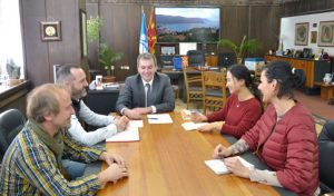 Meeting with the Mayor of Ohrid City