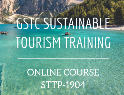 Sustainable Tourism Online Course – GSTC Training 2019-04