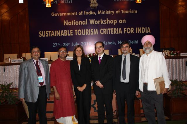 Sustainable Tourism Workshop in India
