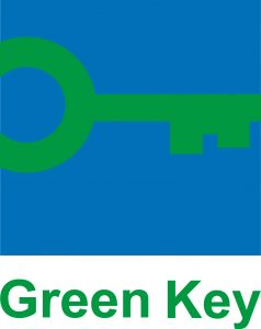 Green Key logo in color with text