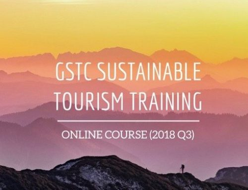 Sustainable Tourism Online Course – GSTC Training 2018 Q3
