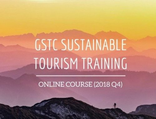 Sustainable Tourism Online Course – GSTC Training 2018 Q4
