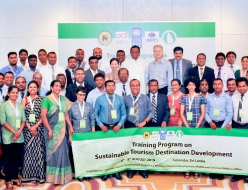Sri Lanka Tourism Development Authority (SLTDA) Awards Hotels through the National Sustainable Tourism Certification (NSTC)