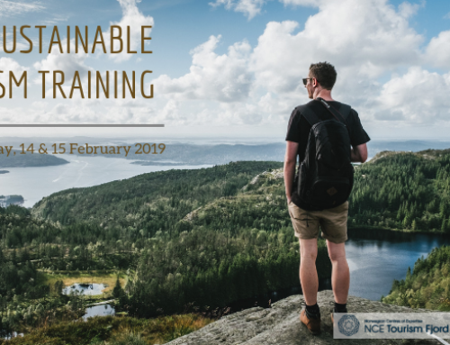 Sustainable Tourism Training, Bergen, Norway, Feb 14-15, 2019