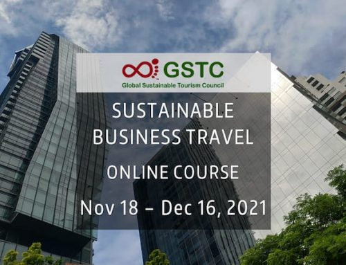 GSTC Sustainable Business Travel Online Course (November 18 – December 16, 2021)