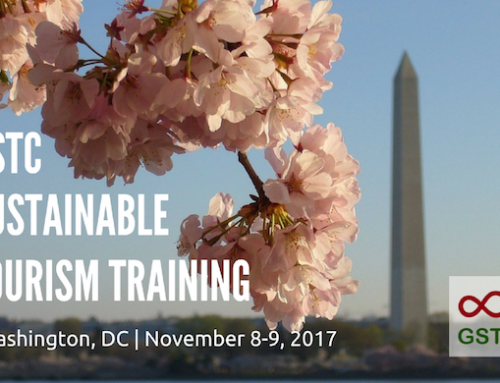 Sustainable Tourism Training, Washington DC, Nov 8-9, 2017