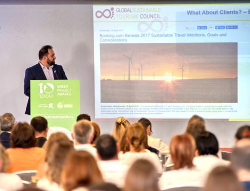 "GSTC Board Member Dr. Ioannis Pappas Keynoted the Conference Cycle Green Project Awards ""SUSTAINABLE TOURISM"" in Évora, Portugal, on 1 June 2017"