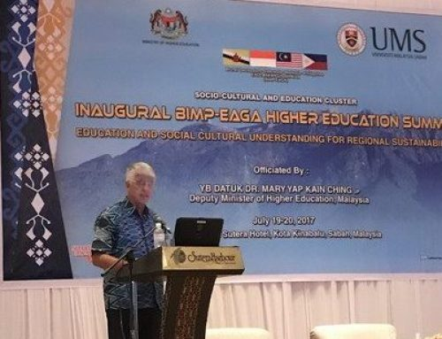 GSTC at the Inaugural BIMP-EAGA Higher Education Summit 2017 in Malaysia