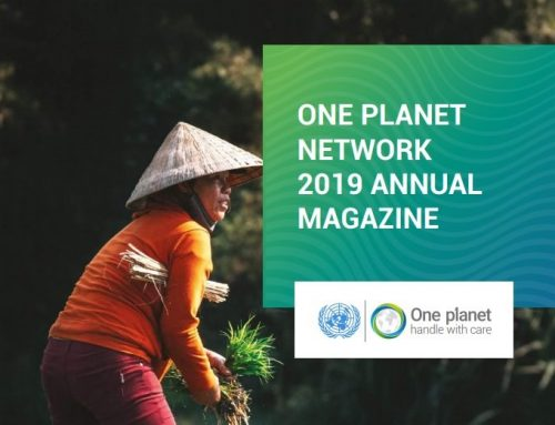 """""""Using Standards to Scale Sustainability in Tourism"""" – One Planet Sustainable Tourism Programme 2019 Annual Magazine"""