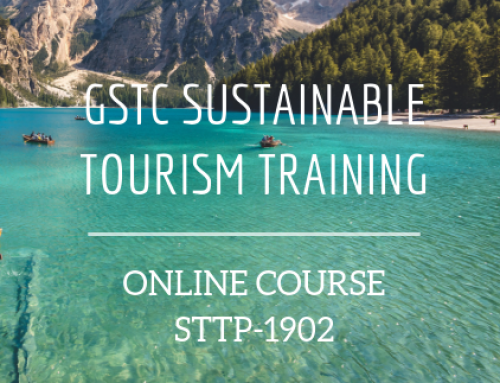 Sustainable Tourism Online Course – GSTC Training 2019-03