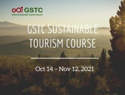 Sustainable Tourism Online Course – GSTC Training (Oct 14 – Nov 12, 2021)
