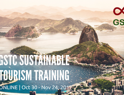 Sustainable Tourism Online Course – GSTC Training 2017 Q4 (Oct 30-Nov 24)