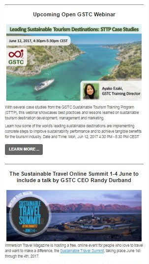 Glossary | Global Sustainable Tourism Council (GSTC)
